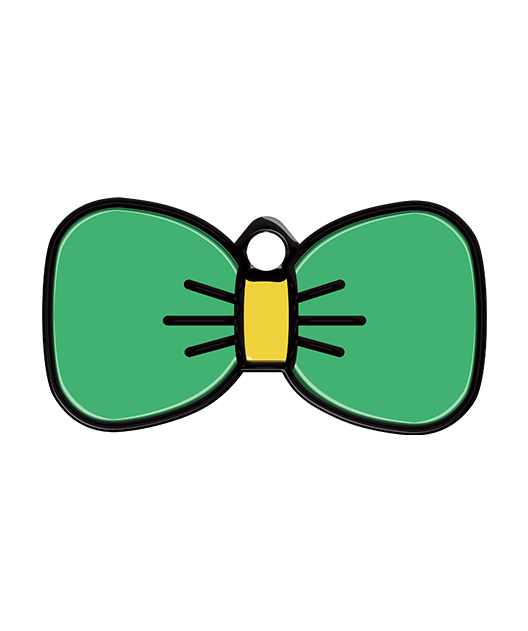 Bow Tie Pet Tag - Pet Dandy - Petdandy - Cool Pet Tags